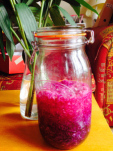 A Kilner jar of sauerkraut made by Real Food Lover